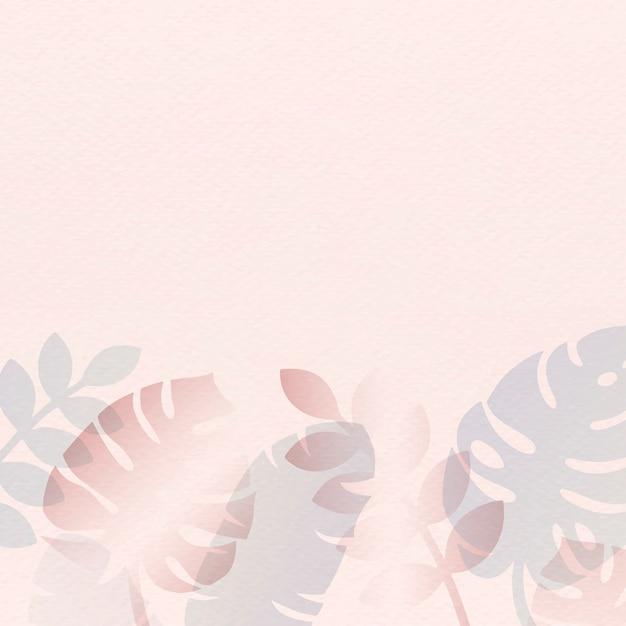 Carta di estate rosa Vettore gratuito