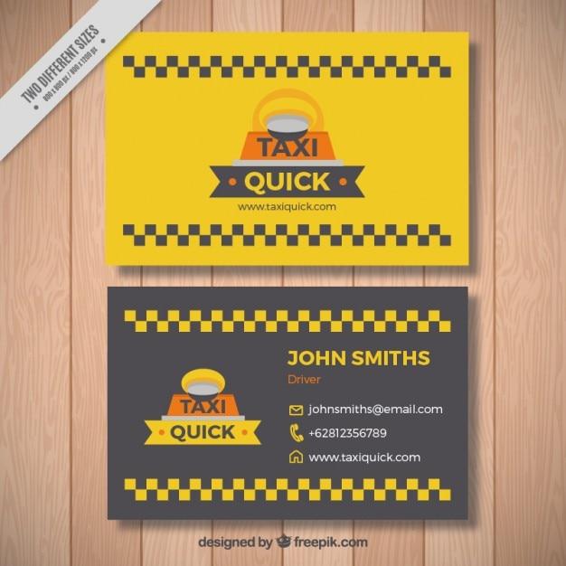 Carta di taxi, sveglia con le piazze Vettore gratuito