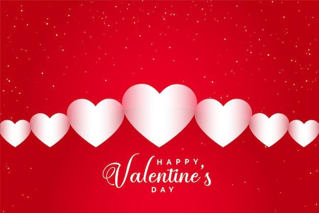 Cartolina d'auguri di felice san valentino celebrazione Vettore gratuito
