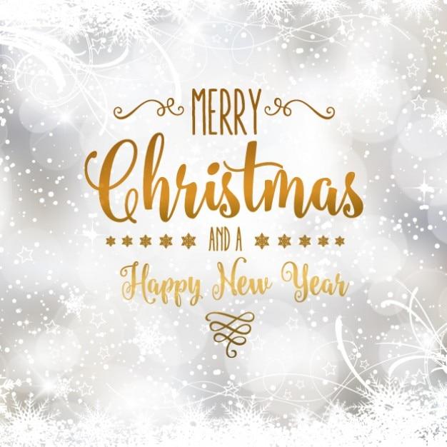 Immagini Natalizie Con Scritte.Cartolina Di Natale D Argento Con Scritte D Oro Scaricare
