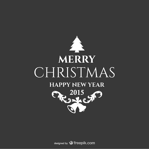 Immagini Natalizie Vintage.Cartolina Di Natale Vintage Scaricare Vettori Gratis