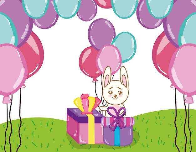 Cartoni Animati Di Conigli Di Buon Compleanno Scaricare