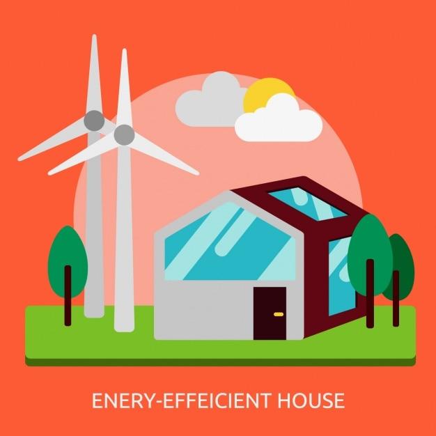 Casa a risparmio energetico scaricare vettori gratis - Casa a risparmio energetico ...