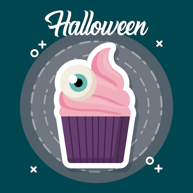 Celebrazione di halloween Vettore gratuito