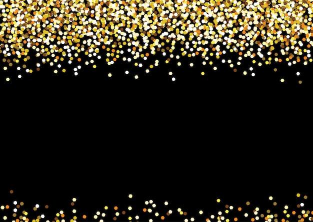 Celebrazione sfondo dorato Vettore Premium