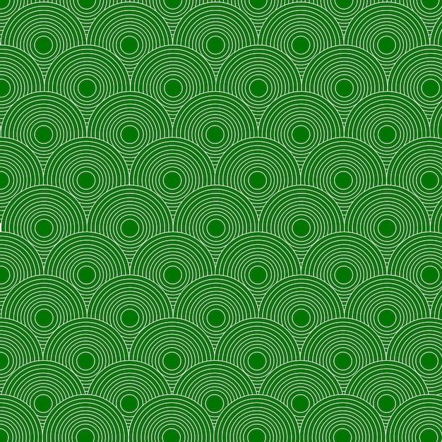 Cerchi pattern di sfondo Vettore Premium