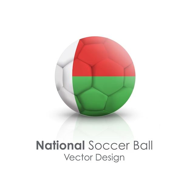 Cerchio, sfera, rotondo, oggetto, soccerball Vettore gratuito