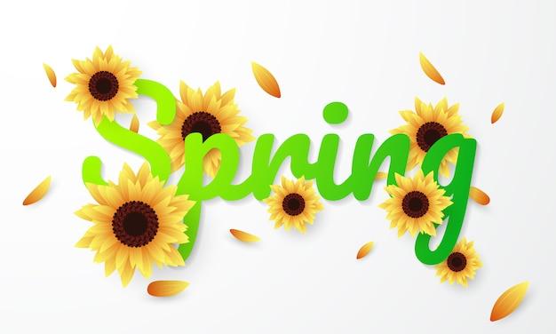 Ciao primavera Vettore Premium