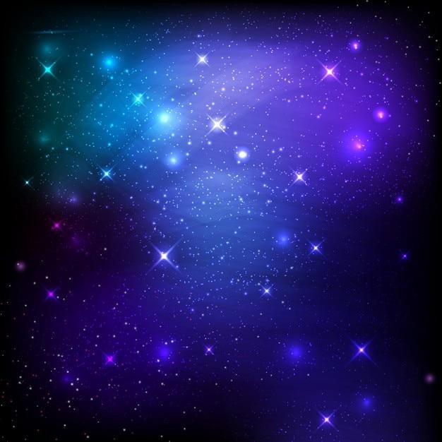 Cielo notturno spazio sfondo di stelle e galassie for Foto galassie hd