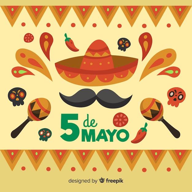 Cinco de mayo Vettore gratuito