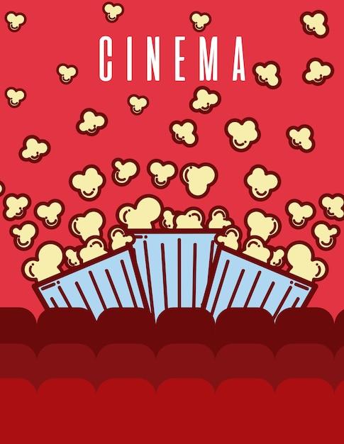 Teatro Le Sedie.Cinema Elementi Cartoni Animati All Interno Del Teatro Con