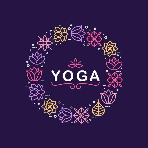 Citazione di meditazione di zen sulla priorità bassa organica di struttura Vettore gratuito