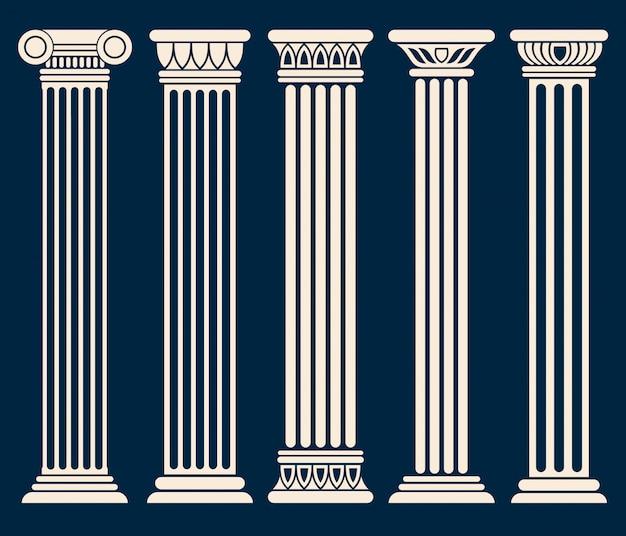 Classico romano Vettore Premium