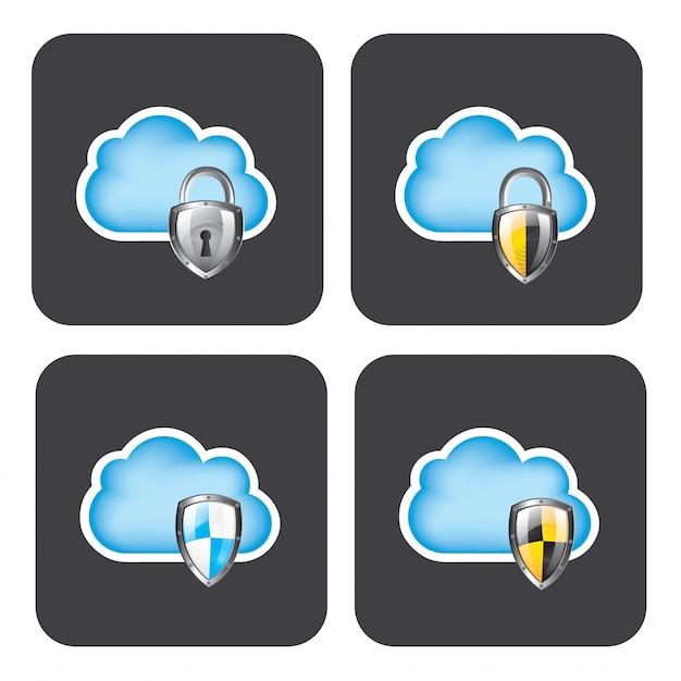 Cloud securiry Vettore Premium