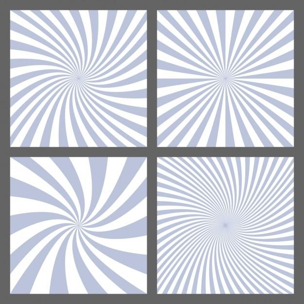 Collezione abstract backgrounds Vettore gratuito