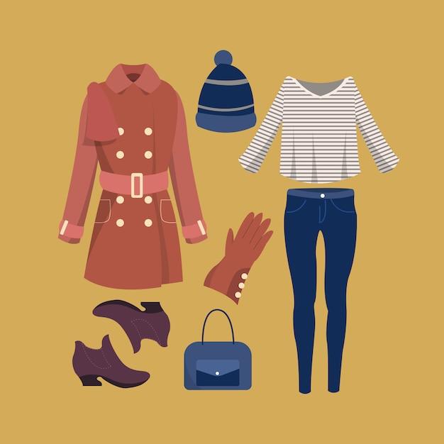 big sale 75c43 49667 Collezione di abiti alla moda invernale ragazza | Scaricare ...