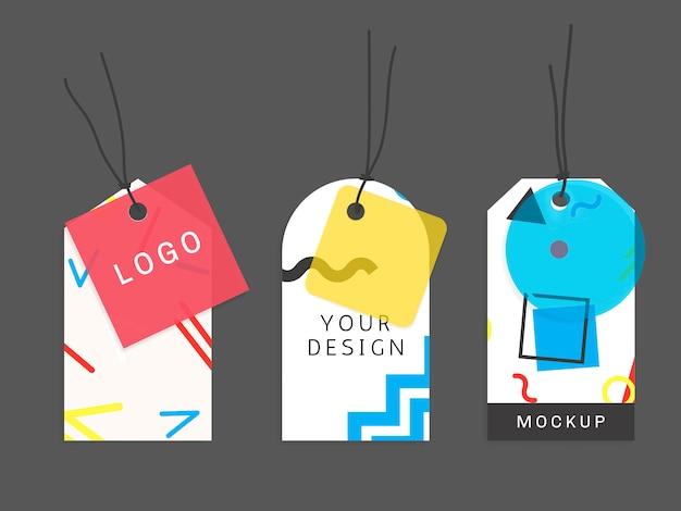 Collezione di cartamodelli di memphis Vettore gratuito