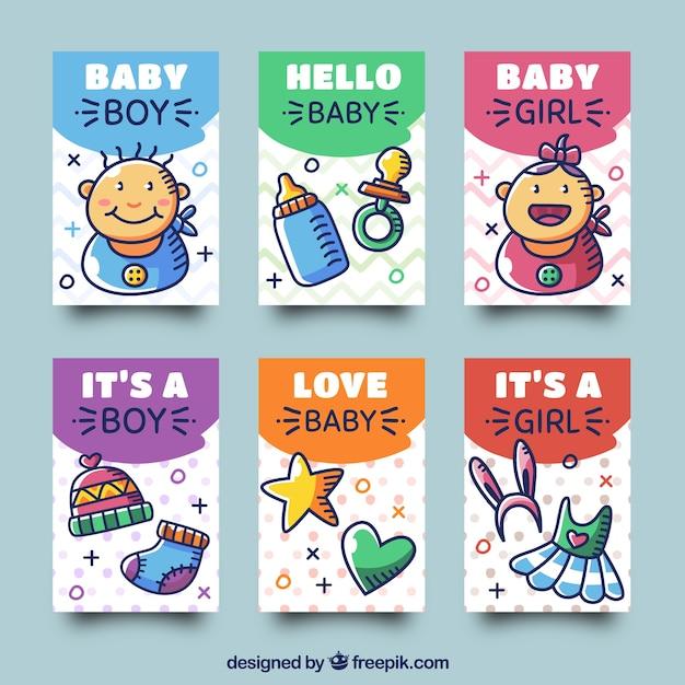 b924bc364c Collezione di carte per bambini con vestiti e giocattoli   Scaricare ...