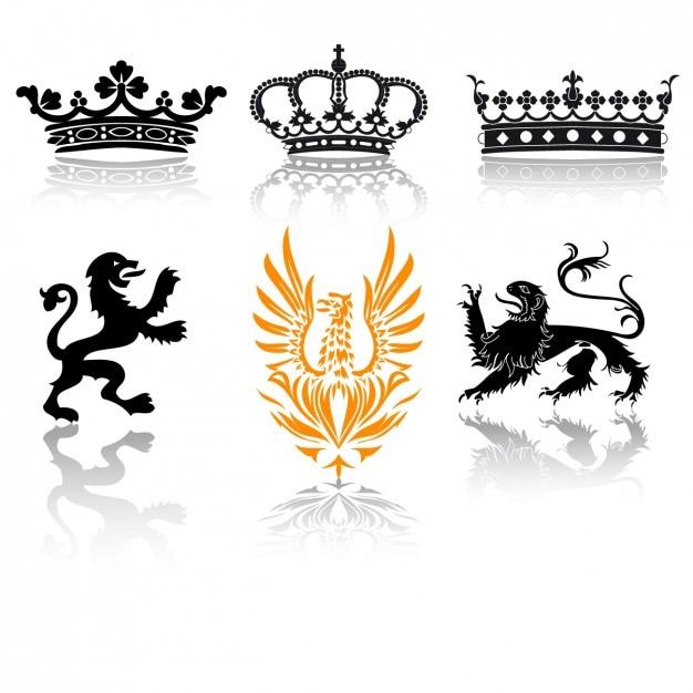 Collezione di design emblemi scaricare vettori gratis for Costruttore di layout gratuito