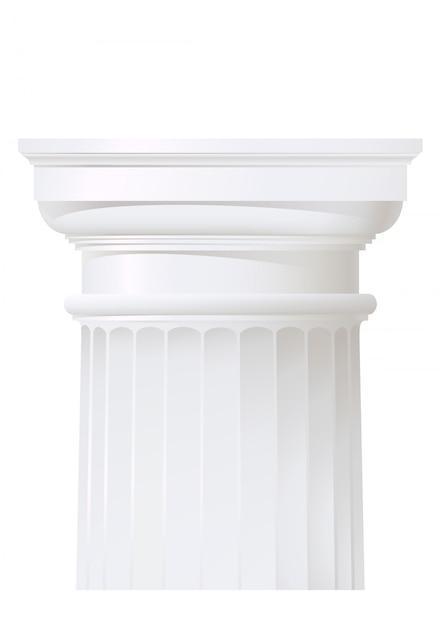 Colonna stile classico Vettore Premium
