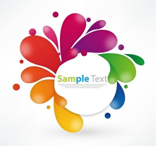 Colorful floral design grafica illustrazione Vettore gratuito