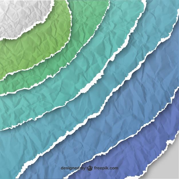 Colorful trama della carta Vettore gratuito