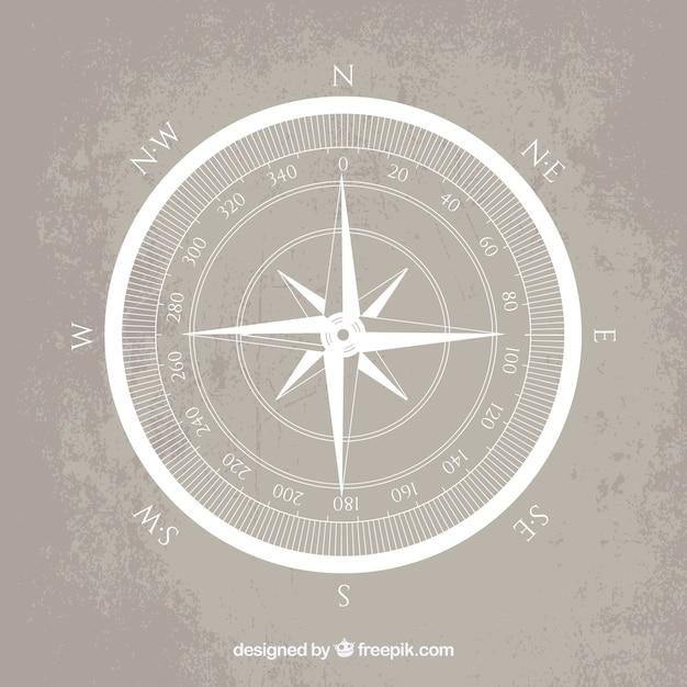 Compass wind rose Vettore gratuito