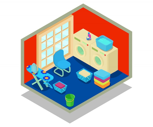 Concept concept lavabile Vettore Premium