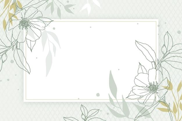 Concetto astratto sfondo tropicale Vettore gratuito