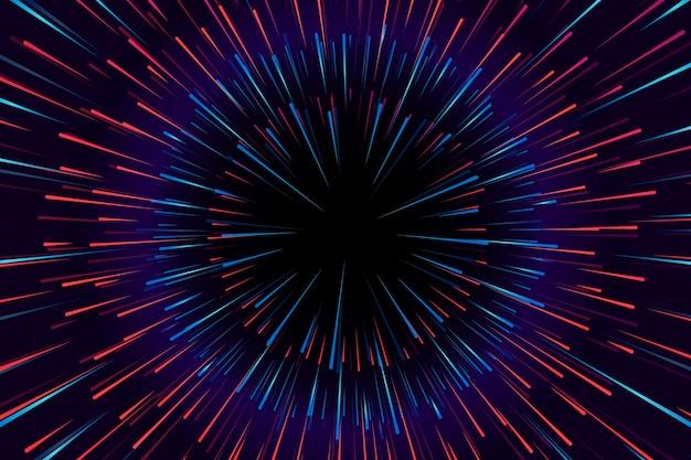 Concetto del fondo delle luci di velocità Vettore gratuito