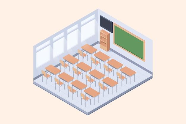 Concetto di classe isometrica Vettore gratuito