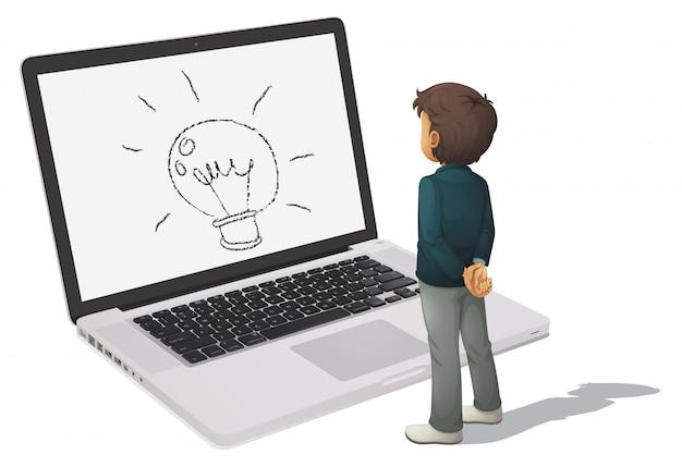 Concetto di computer Vettore gratuito