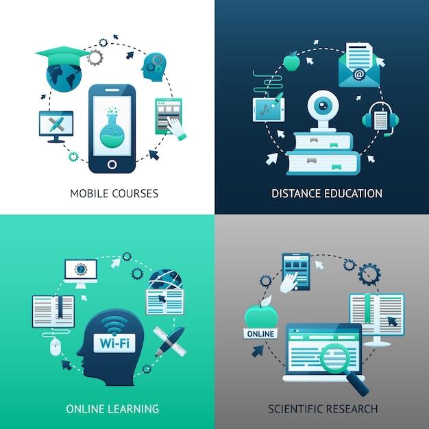 Concetto di design di formazione online scaricare for Designer di garage online gratuito