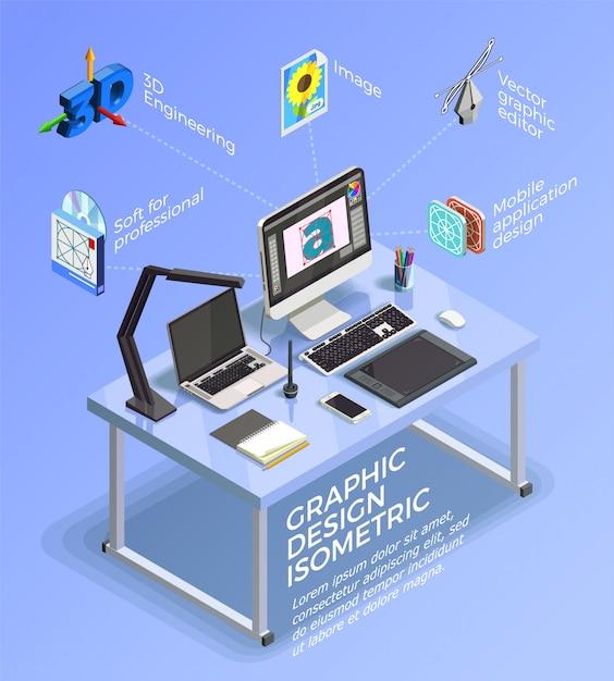 Concetto di infografica di visual design Vettore gratuito