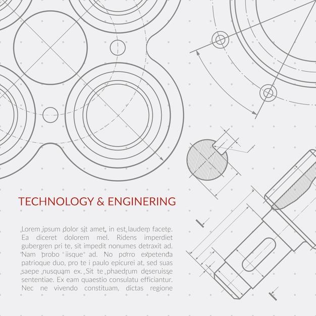 Concetto di ingegneria vettoriale Vettore Premium
