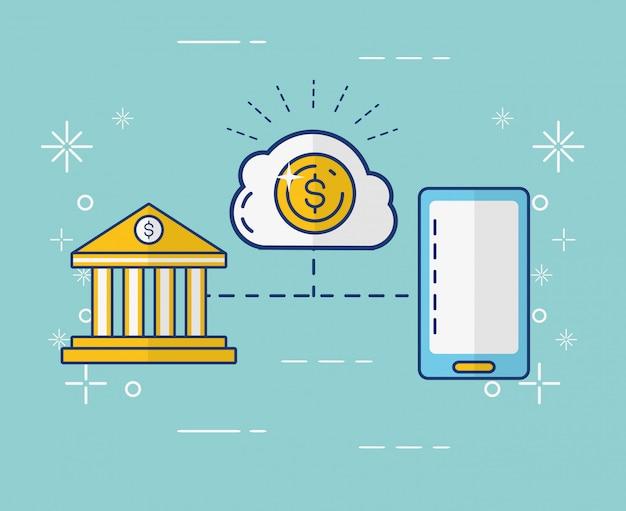 Concetto di pagamento online Vettore gratuito