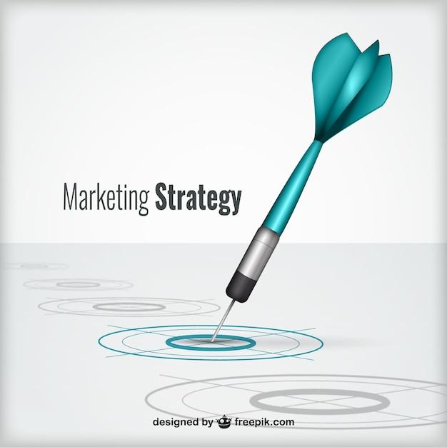 Concetto di strategia di marketing Vettore gratuito