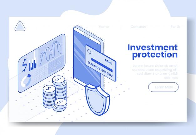Concetto isometrico di design digitale Vettore Premium