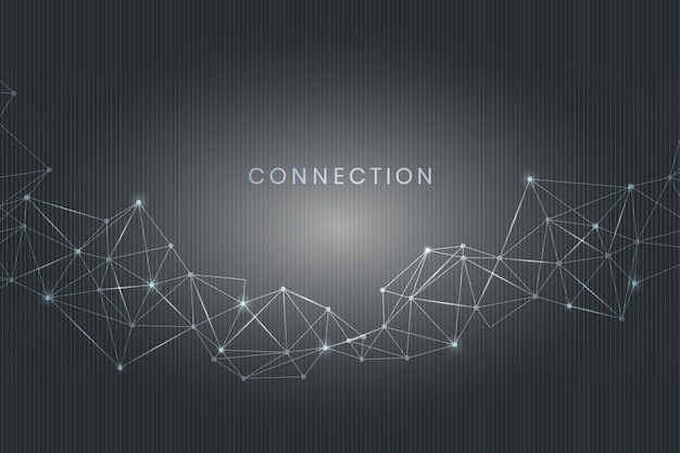 Connessione ai social media Vettore gratuito