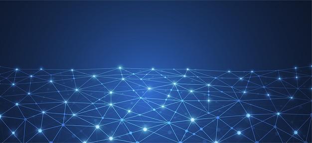 Connessione internet Vettore Premium