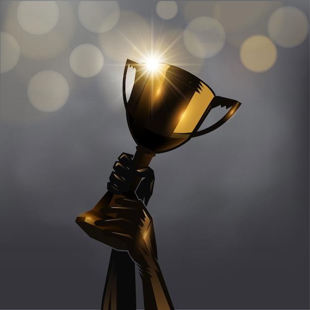 Consegnare il trofeo Vettore Premium
