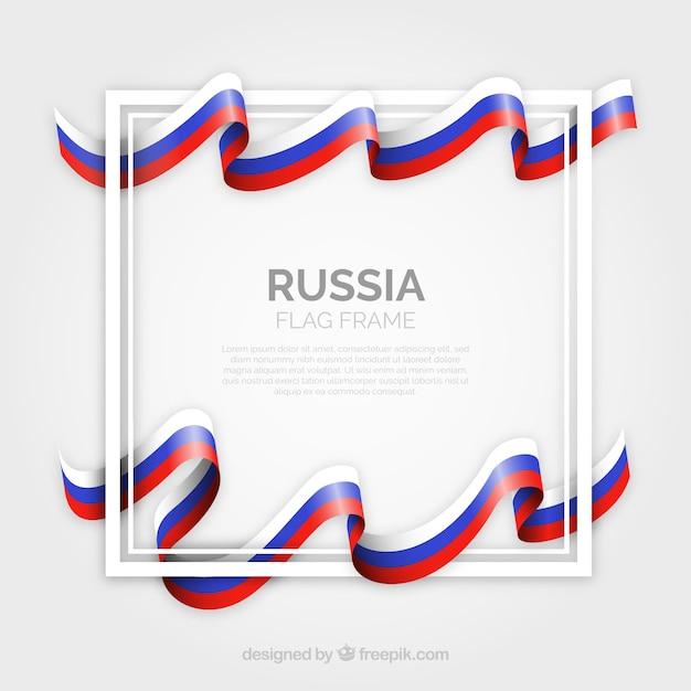 Cornice della russia Vettore gratuito
