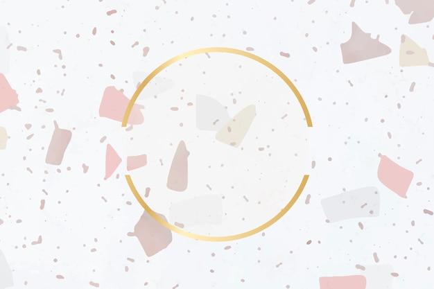 Cornice di sfondo di piastrelle di ceramica Vettore gratuito