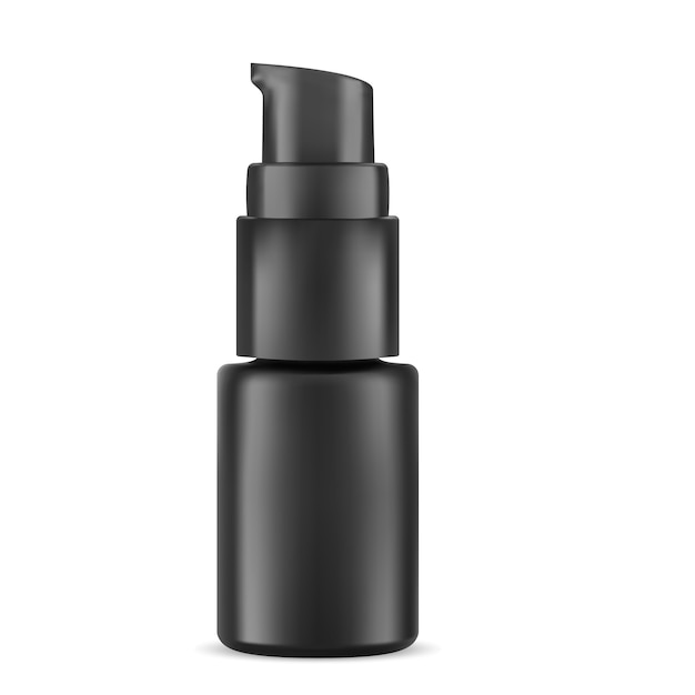 Cosmetic bottle eye eye Vettore Premium