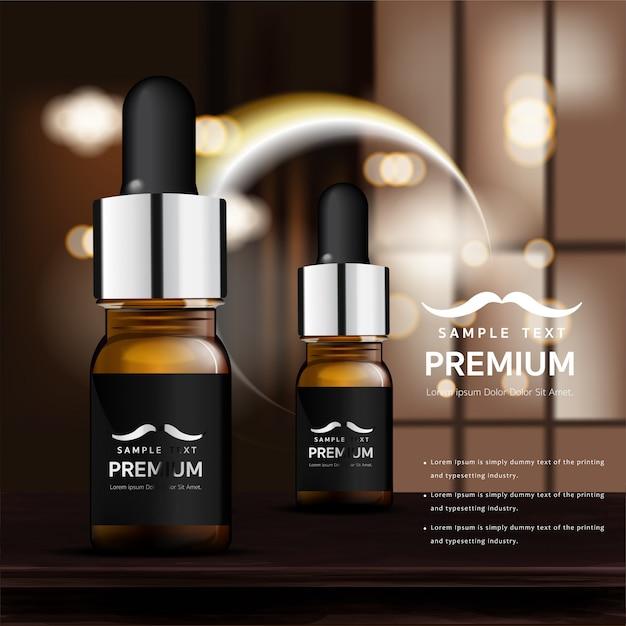 Cosmetici per la cura della pelle Vettore Premium