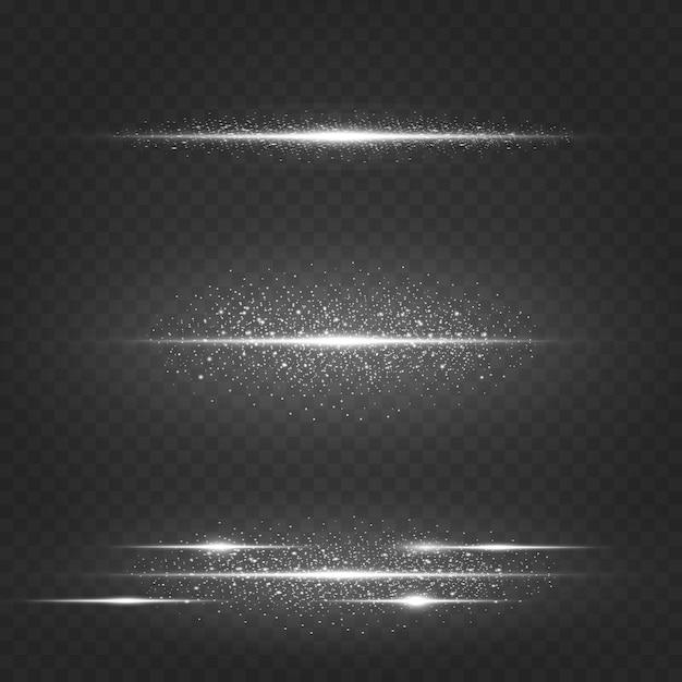 Cosmic christmas effetto brillante Vettore Premium