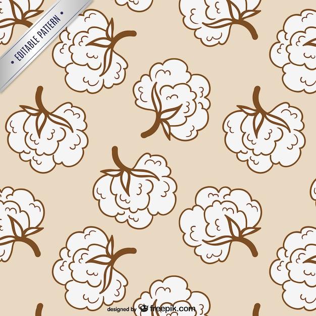 Cotton modello modificabile Vettore gratuito