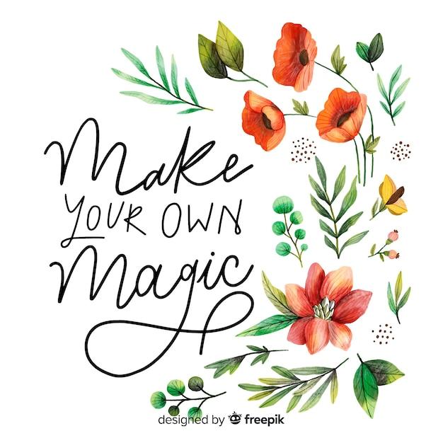 Crea la tua magia Vettore gratuito