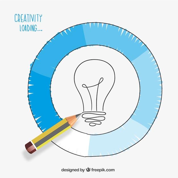 Creatività carico Vettore gratuito