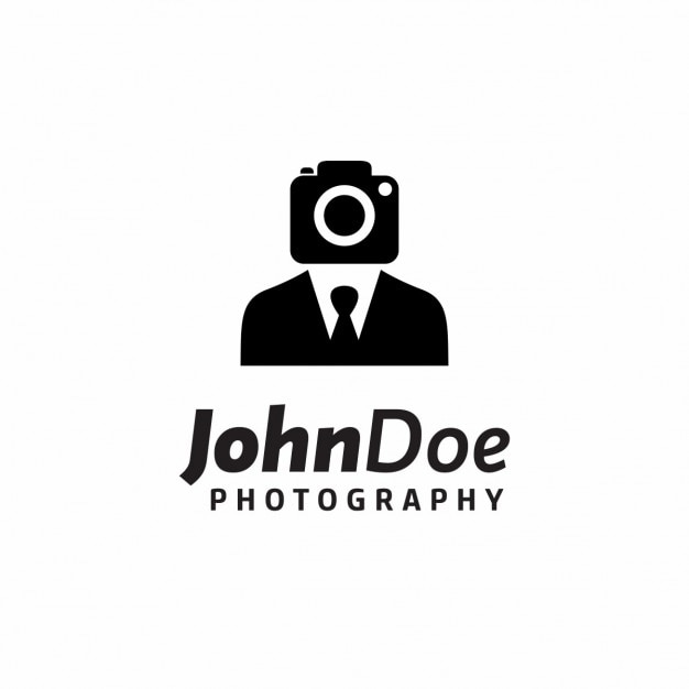 Creativo logo fotografo Vettore gratuito